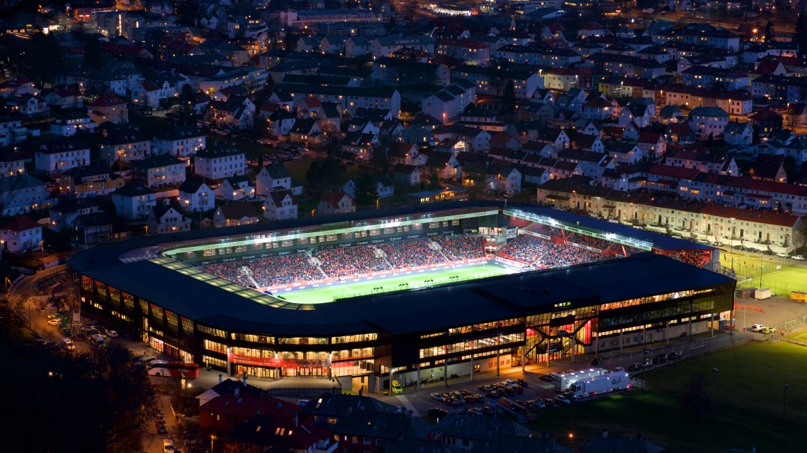 Presseinformasjon på Stadion i 2020