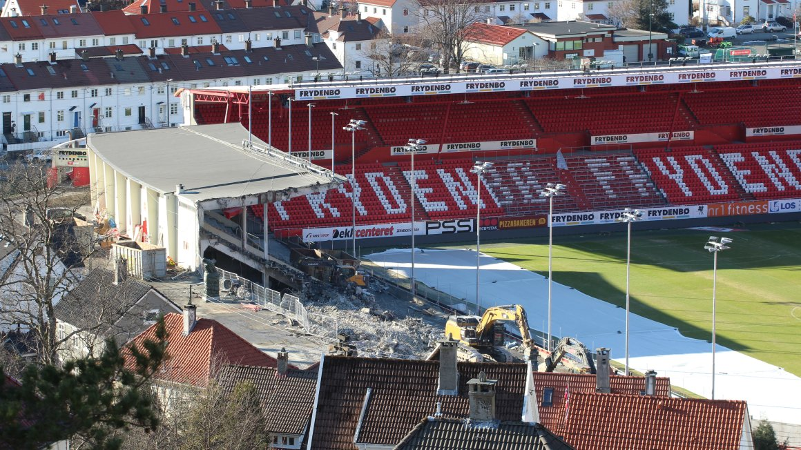 Følg utbyggingen på Stadion