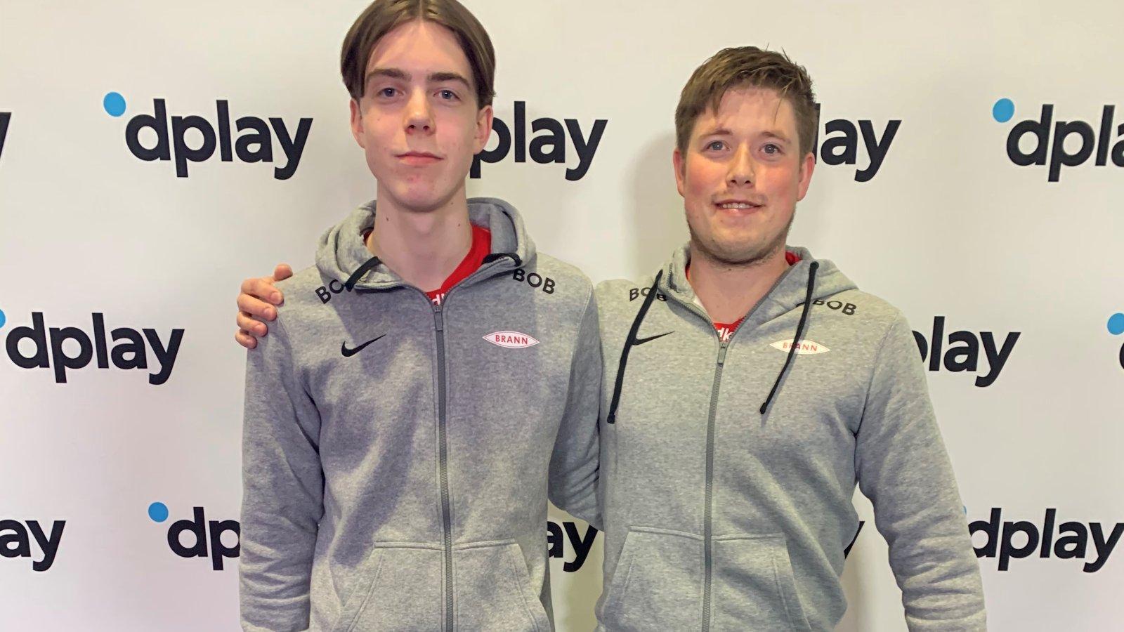 Erland Lie Bjørneberg og Espen Haugland