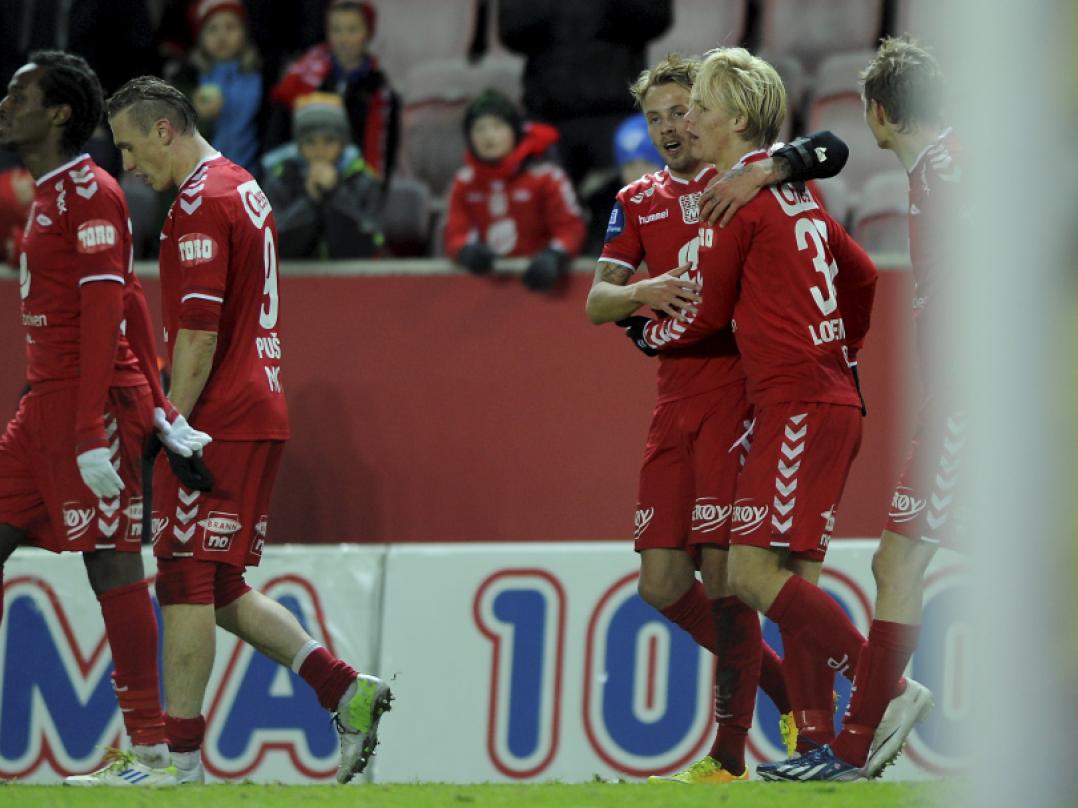 HÅKON LORENTZEN became the youngest goal scorer ever.