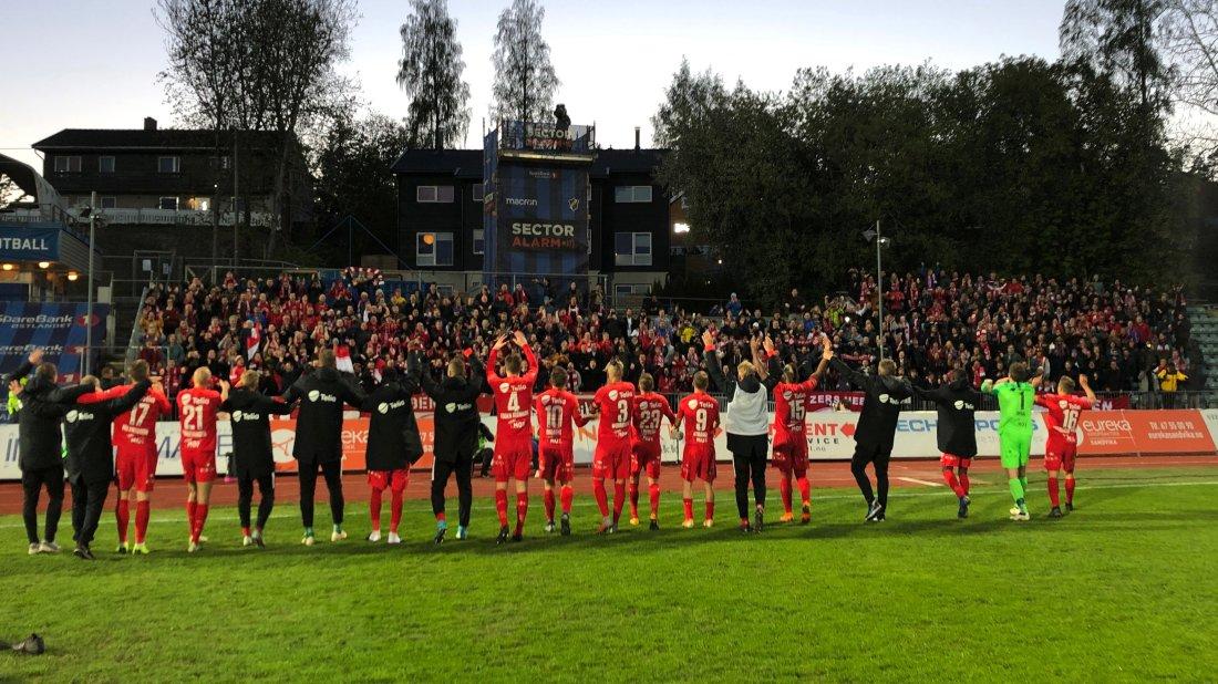 Stabæk - Brann 2019 fans tilskuere supportere