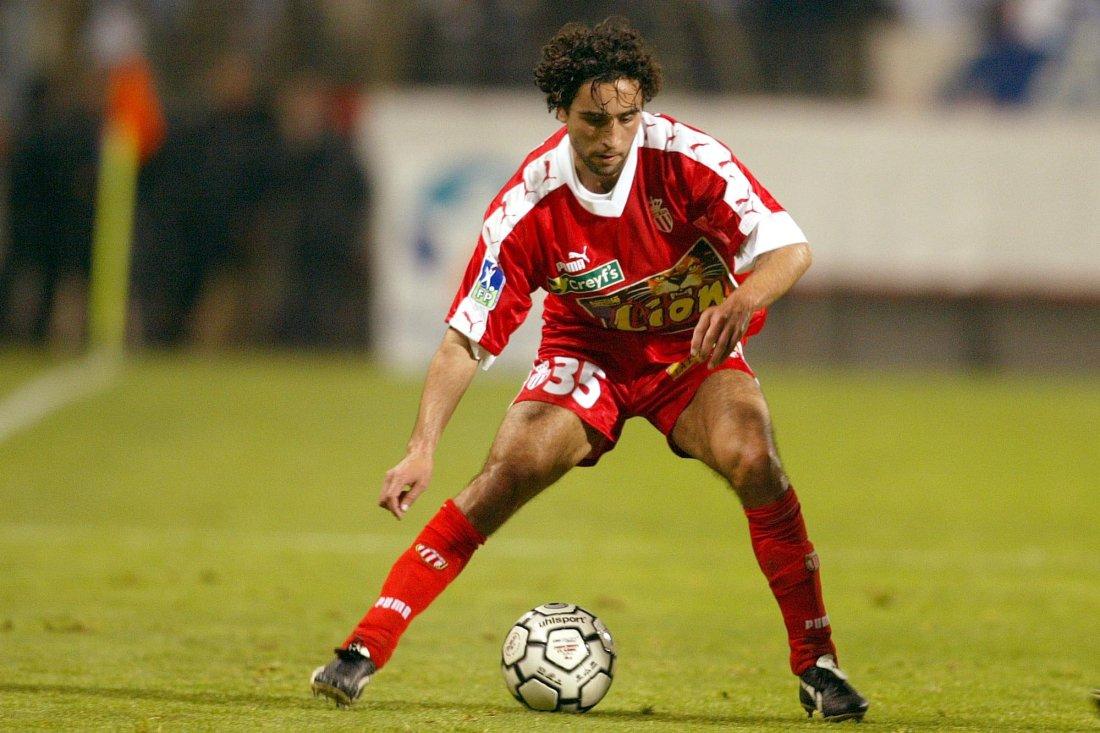 MONACO: Hassan El Fakiri i fransk ligacupsemifinale mot Olympique Marseille i 2003.