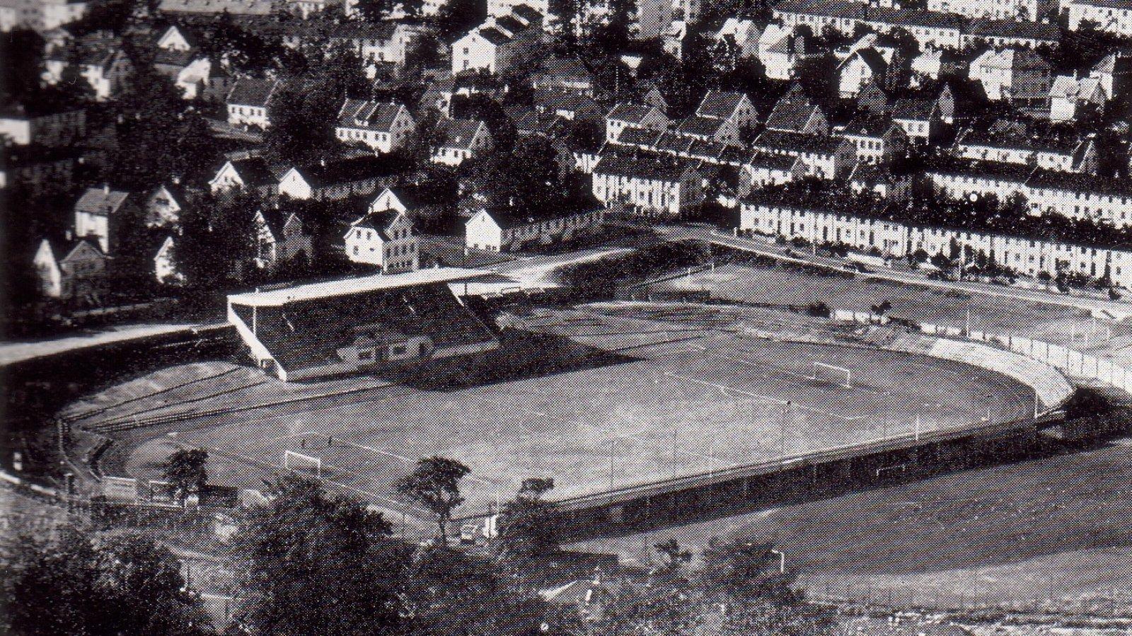 Brann Stadion 1958